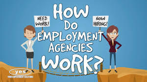 how does recruitment agencies work